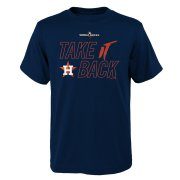Wholesale Cheap Houston Astros Majestic Youth 2019 World Series Bound Authentic Collection T-Shirt Navy