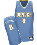 Wholesale Cheap Denver Nuggets #8 Danilo Gallinari Light Blue Swingman Jersey