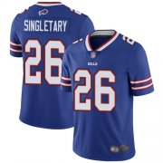 Wholesale Cheap Nike Bills #26 Devin Singletary Royal Blue Team Color Men's Stitched NFL Vapor Untouchable Limited Jersey