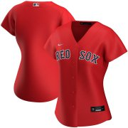 Wholesale Cheap Boston Red Sox Nike Women's Alternate 2020 MLB Team Jersey Red