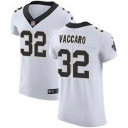 Wholesale Cheap Nike Saints #32 Kenny Vaccaro White Men's Stitched NFL Vapor Untouchable Elite Jersey