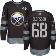 Wholesale Cheap Adidas Sabres #68 Victor Olofsson Black 1917-2017 100th Anniversary Stitched NHL Jersey