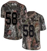 Wholesale Cheap Nike 49ers #58 Weston Richburg Camo Youth Stitched NFL Limited Rush Realtree Jersey