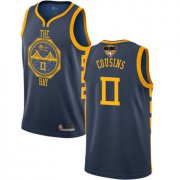 Wholesale Cheap Warriors #0 DeMarcus Cousins Navy 2019 Finals Bound Basketball Swingman City Edition 2018-19 Jersey
