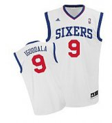 Wholesale Cheap Philadelphia 76ers #9 Andre Iguodala White Swingman Jersey