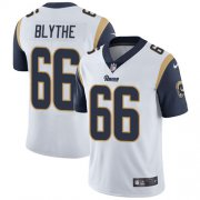 Wholesale Cheap Nike Rams #66 Austin Blythe White Men's Stitched NFL Vapor Untouchable Limited Jersey