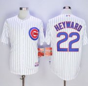 Wholesale Cheap Cubs #22 Jason Heyward White Home Cool Base Stitched MLB Jersey