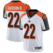 Wholesale Nike Bengals #22 William Jackson White Men's Stitched NFL Vapor Untouchable Limited Jersey