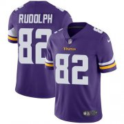 Wholesale Cheap Nike Vikings #82 Kyle Rudolph Purple Team Color Youth Stitched NFL Vapor Untouchable Limited Jersey