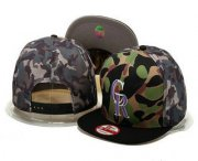 Wholesale Cheap MLB Colorado Rockies Snapback Ajustable Cap Hat
