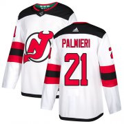 Wholesale Cheap Adidas Devils #21 Kyle Palmieri White Road Authentic Stitched NHL Jersey