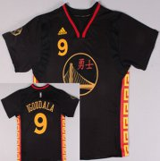 Wholesale Cheap Golden State Warriors #9 Andre Iguodala Revolution 30 Swingman 2015 Chinese Black Fashion Jersey