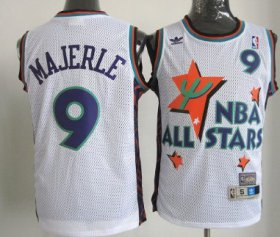 Wholesale Cheap NBA 1995 All-Star #9 Dan Majerle White Swingman Throwback Jersey