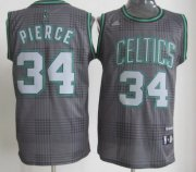 Wholesale Cheap Boston Celtics #34 Paul Pierce Black Rhythm Fashion Jersey