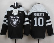 Wholesale Cheap Nike Raiders #10 Seth Roberts Black Player Pullover NFL Hoodie