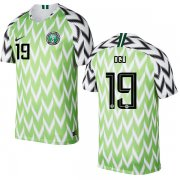Wholesale Cheap Nigeria #19 Ogu Home Soccer Country Jersey