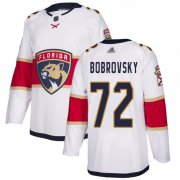 Wholesale Cheap Adidas Panthers #72 Sergei Bobrovsky White Road Authentic Stitched Youth NHL Jersey
