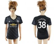 Wholesale Cheap Women's Manchester United #38 Tuanzebe Away Soccer Club Jersey