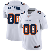 Wholesale Cheap Denver Broncos Custom White Men's Nike Team Logo Dual Overlap Limited NFL Jersey