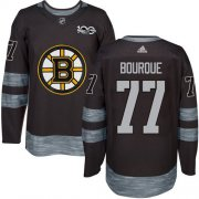 Wholesale Cheap Adidas Bruins #77 Ray Bourque Black 1917-2017 100th Anniversary Stitched NHL Jersey