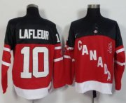Wholesale Olympic CA. #10 Guy Lafleur Red 100th Anniversary Stitched NHL Jersey
