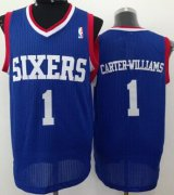 Wholesale Cheap Philadelphia 76ers #1 Michael Carter-Williams Blue Swingman Jersey