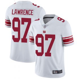 Wholesale Cheap Nike Giants #97 Dexter Lawrence White Men\'s Stitched NFL Vapor Untouchable Limited Jersey