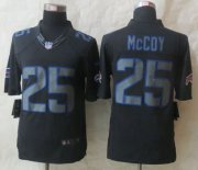 Wholesale Cheap Nike Bills #25 LeSean McCoy Black Men's Stitched NFL Impact Limited Jersey