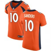 Wholesale Cheap Nike Broncos #10 Emmanuel Sanders Orange Team Color Men's Stitched NFL Vapor Untouchable Elite Jersey