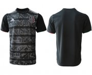 Wholesale Cheap Mexico Blank Black Soccer Country Jersey