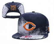 Wholesale Cheap Bears Team Logo Navy White Adjustable Hat YD