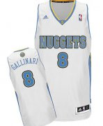 Wholesale Cheap Denver Nuggets #8 Danilo Gallinari White Swingman Jersey