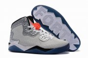 Wholesale Cheap Jordan Spike 40 knicks Gray/blue-black