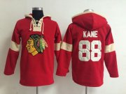 Wholesale Cheap Chicago Blackhawks #88 Patrick Kane Red Pullover NHL Hoodie