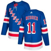 Wholesale Cheap Adidas Rangers #11 Mark Messier Royal Blue Home Authentic Stitched Youth NHL Jersey