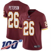 Wholesale Cheap Nike Redskins #26 Adrian Peterson Burgundy Red Team Color Men's Stitched NFL 100th Season Vapor Limited Jersey