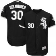 Wholesale Cheap White Sox #30 Nicky Delmonico Black Flexbase Authentic Collection Stitched MLB Jersey