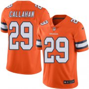 Wholesale Cheap Nike Broncos #29 Bryce Callahan Orange Men's Stitched NFL Limited Rush Jersey