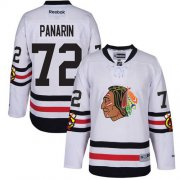 Wholesale Cheap Blackhawks #72 Artemi Panarin White 2017 Winter Classic Stitched Youth NHL Jersey