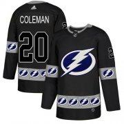 Cheap Adidas Lightning #20 Blake Coleman Black Authentic Team Logo Fashion Stitched NHL Jersey