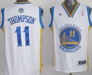 Wholesale Cheap Golden State Warriors #11 Klay Thompson Revolution 30 Swingman White Jersey