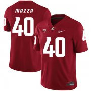 Wholesale Cheap Washington State Cougars 40 Blake Mazza Red College Football Jersey