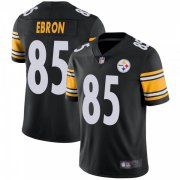 Wholesale Cheap Youth Pittsburgh Steelers #85 Eric Ebron Team Color Vapor Untouchable Jersey - Black Limited