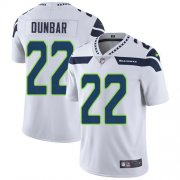 Wholesale Cheap Nike Seahawks #22 Quinton Dunbar White Men's Stitched NFL Vapor Untouchable Limited Jersey