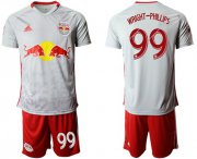 Wholesale Cheap Red Bull #99 Wright-Phillips White Home Soccer Club Jersey