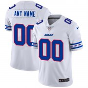 Wholesale Cheap Buffalo Bills Custom Nike White Team Logo Vapor Limited NFL Jersey