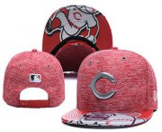Wholesale Cheap MLB Cincinnati Reds Snapback Ajustable Cap Hat YD