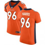 Wholesale Cheap Nike Broncos #96 Shelby Harris Orange Team Color Men's Stitched NFL Vapor Untouchable Elite Jersey