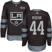 Wholesale Cheap Adidas Kings #44 Robyn Regehr Black 1917-2017 100th Anniversary Stitched NHL Jersey