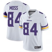 Wholesale Cheap Nike Vikings #84 Randy Moss White Youth Stitched NFL Vapor Untouchable Limited Jersey